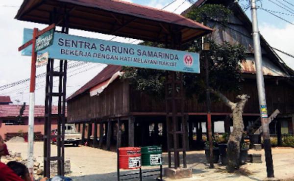 Kelurahan Tenun Kampung Rumah Adat Samarinda Ibu Kota Provinsi Kalimantan