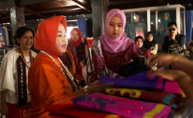 Klik Samarinda Kunjungan Istri Mendagri Kampung Tenun Dinilai Bangkitkan Ekonomi