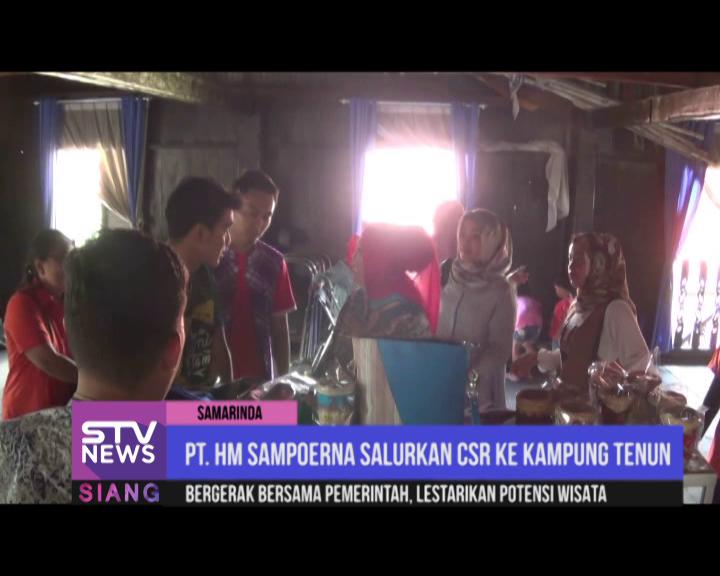 Pt Hm Sampoerna Salurkan Csr Kampung Tenun Stv Official Website