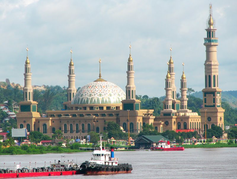 Islamic Center Samarinda Masjid Termegah Ketiga Se Asia Kemon Holiday