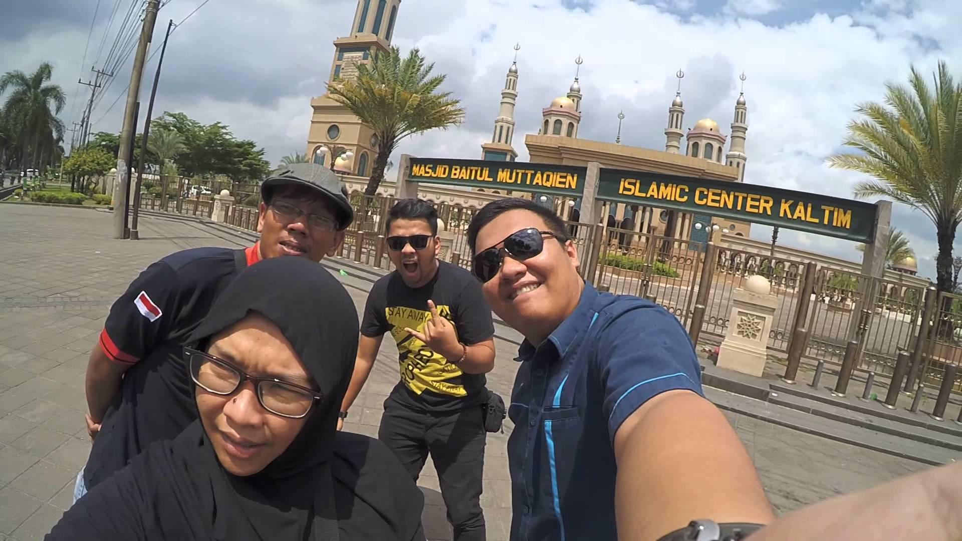 Jalan Masjid Baitul Muttaqien Islamic Center Kaltim Samarinda Kota