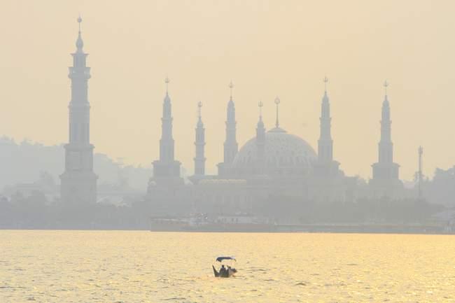 Kabut Asap Kota Tepian Mulai Samar Kaltim Post Lingkungan Tak
