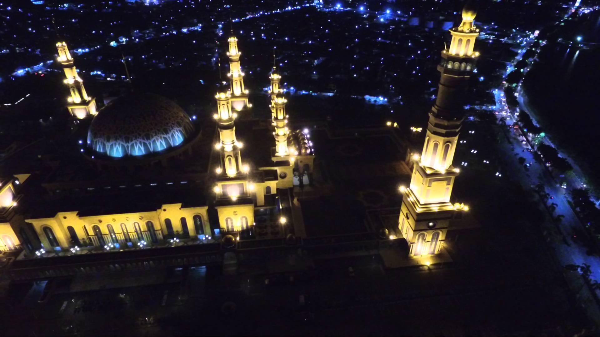 Masjid Baitul Muttaqien Islamic Center Samarinda Youtube Kota