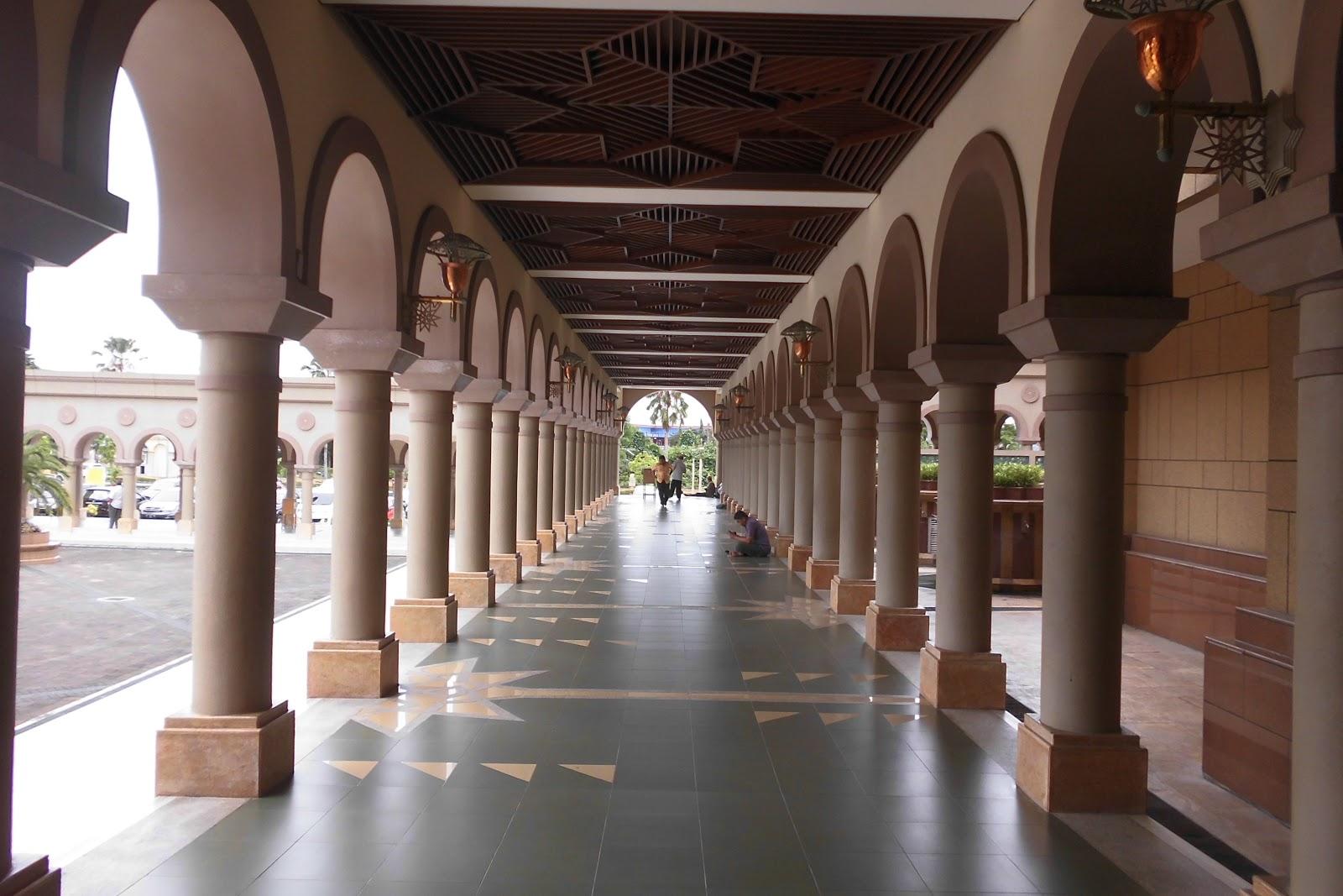 Masjid Baitul Muttaqien Islamic Centre Samarinda Indah Indonesia Termegah Kota