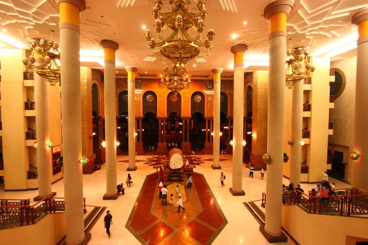 Masjid Baitul Muttaqin Islamic Centre Samarinda Eyeem Biggest Mosque Aouth