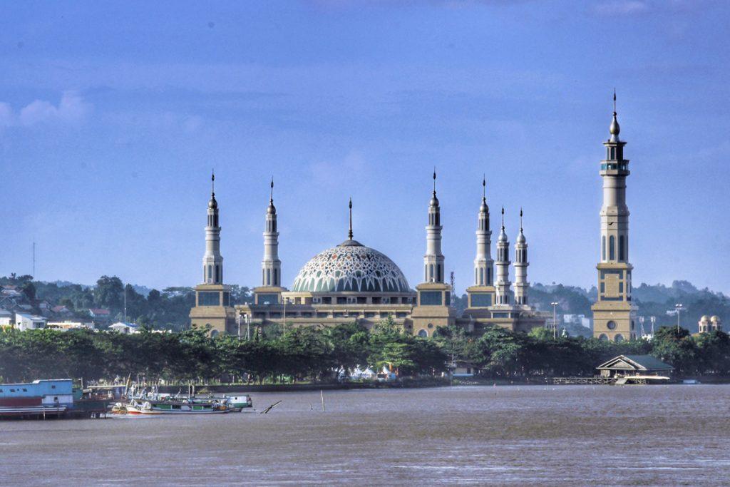 Masjid Islamic Center Samarinda Pariwisatakaltim Baitul Muttaqien Kota