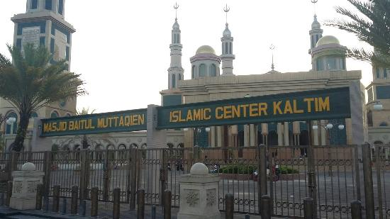 Masjid Islamic Center Samarinda Picture Mosque Baitul Muttaqien Kota