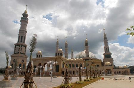 Samarinda Islamic Center Mosque Wikipedia Masjid Baitul Muttaqien Kota