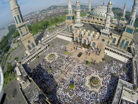 Samarinda Lovers Twitter Aerial View Masjid Baitul Muttaqien 5 06