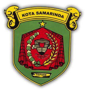 Daerah Samarinda Alfian Apriani Lambang Kota Patung Pesut Tepian