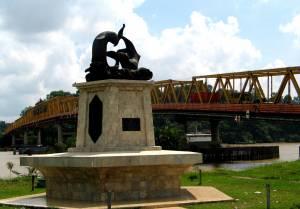 Jalan Kota Samarinda Anakkutu Tugu Pesut Fg Jembatan Mahakam Bg