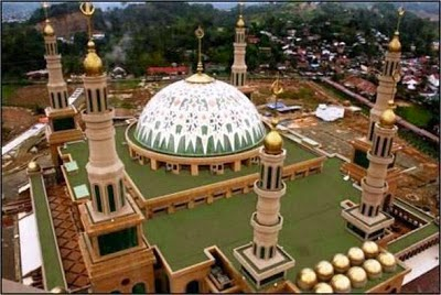 Kota Tepian Pariwisata Masjid Islamic Center Samarinda Berlokasi Propinsi Kalimantan