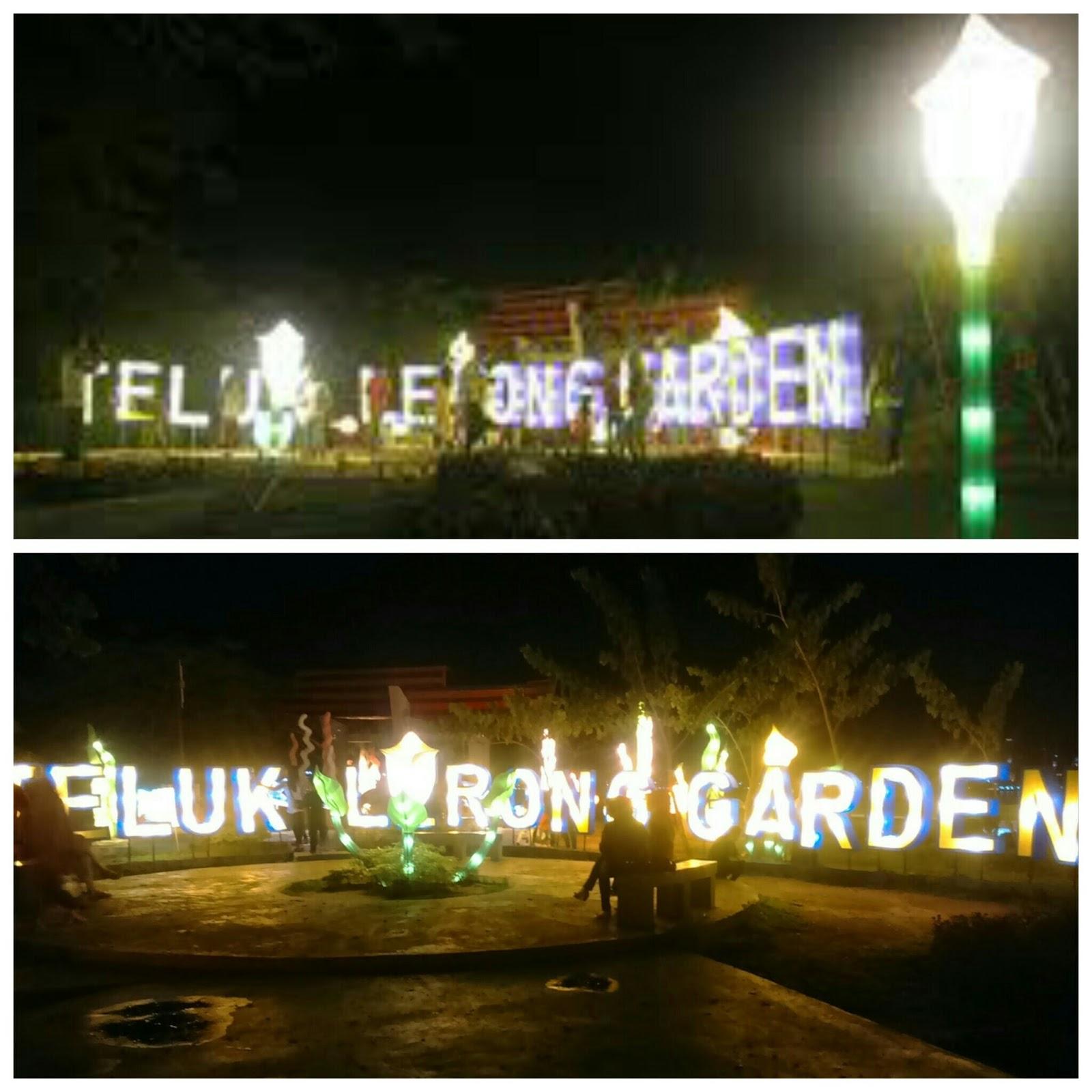 Kuncirkuda Maret 2017 Teluk Lerong Garden Patung Pesut Tepian Kota
