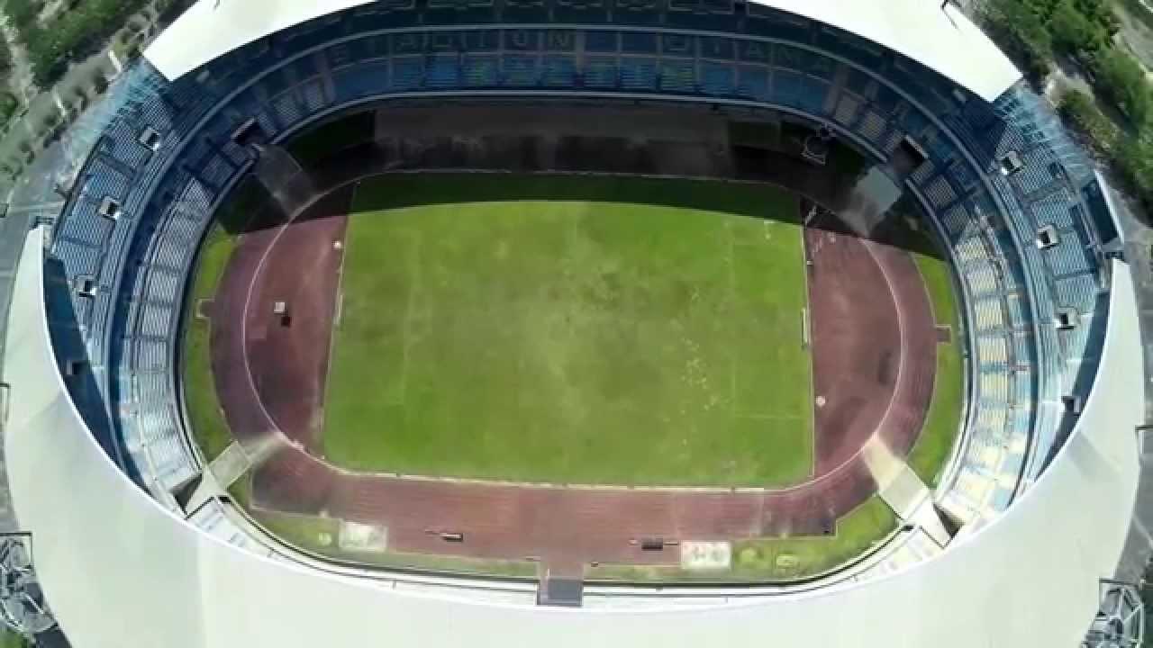 Aerial Video Stadion Utama Palaran Kaltim Wonderful Samarinda Youtube Kota