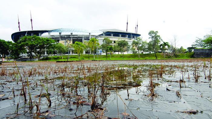 Anggaran Perbaikan Sarana Stadion Utama Palaran Dipangkas Tribun Kaltim Budhi