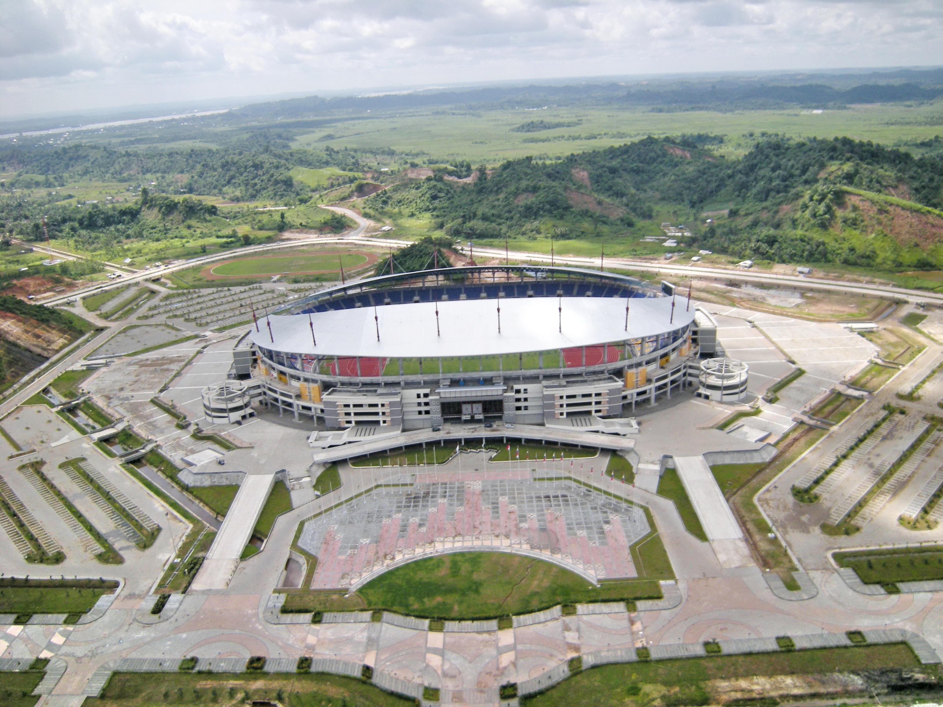 Berkas Stadion Utama Palaran Kaltim Jpg Wikipedia Bahasa Indonesia Kota