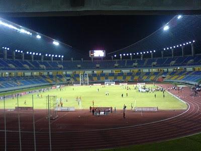Daftar Stadion Sepakbola Keren Indonesia Palaran Nusantara Blogspot Utama Kota