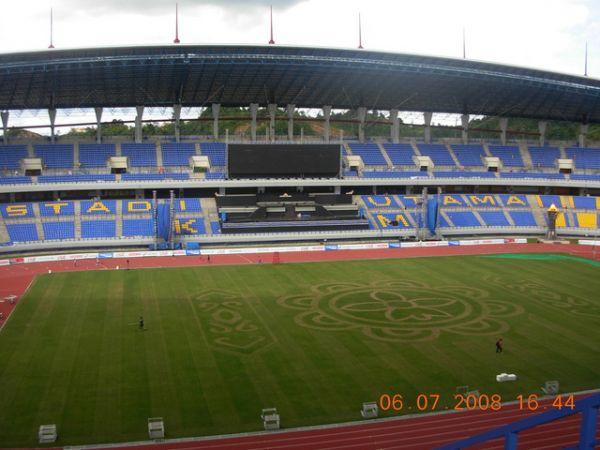 Jalan Kalimantan Stadion Palaran Samarinda Utama Kota