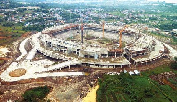 Kaltim Komit Bantu Selesaikan Stadion Balikpapan Pemprov Utama Palaran Kota