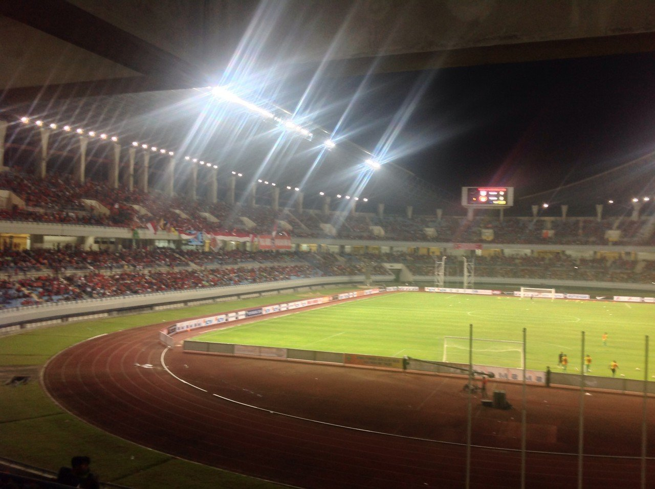 Mengenal Stadion Kebanggaan Samarinda Kaltim Palaran Kaskus Utama Kota