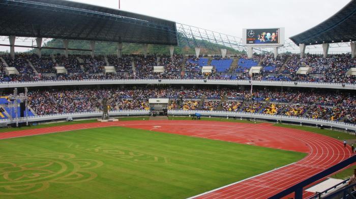 Palaran Jakabaring Gbk Calon Stadion Final Isl 2014 Utama Samarinda