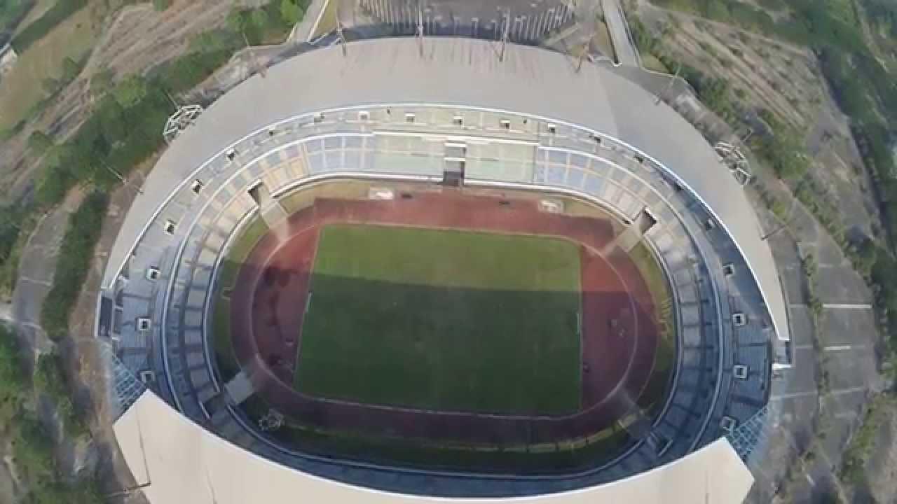 Palaran Stadium Full Flight Youtube Stadion Utama Kota Samarinda