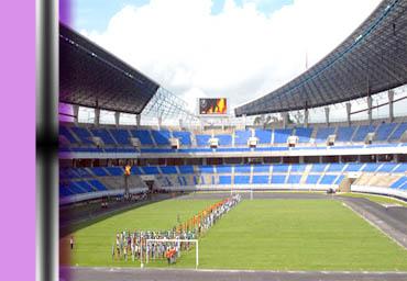 Pon Xvii Kalimantan Timur Blognya Unggun Stadion Utama Palaran Samarinda