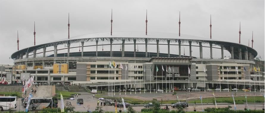 Samarinda Palaran Stadium 45 000 Skyscrapercity Stadia Pictures Visit Url