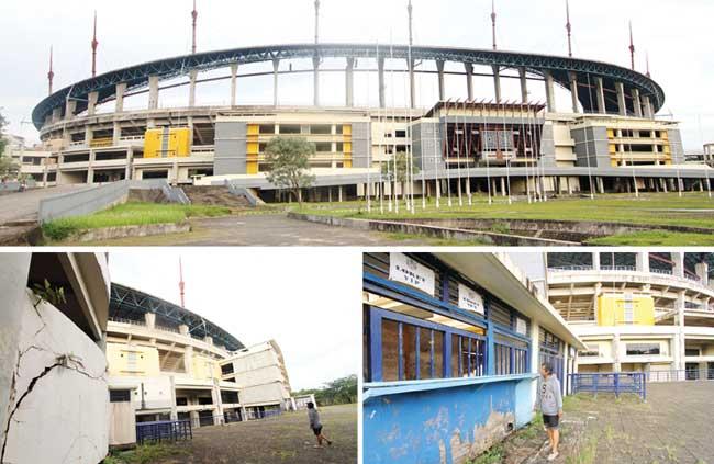 Selamat Tinggal Stadion Megah Kaltim Post Tidak Kompleks Olahraga Terbangun