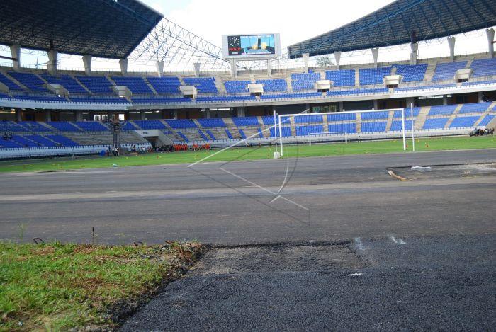 Stadion Antara Foto Samarinda 8 6 Kondisi Utama Palaran Minggu
