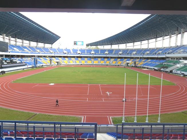 Stadion Palaran Sepakbola Indonesia Utama Kaltim Kota Samarinda