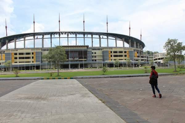 Stadion Termegah Kalimantan Dibenahi Samarinda Pos Megah Palaran Sempat Terbengkalai