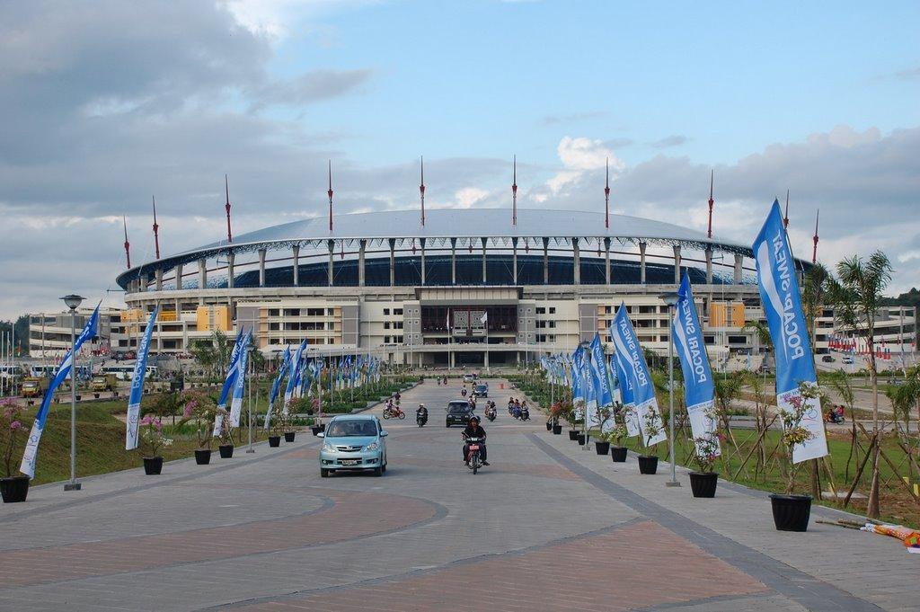 Stadion Utama Kalimantan Timur Indonesia Gor Kaltim Palaran Kota Samarinda