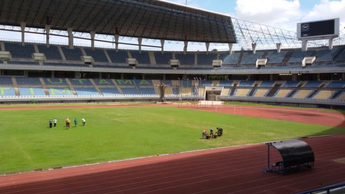Stadion Utama Palaran Gunakan Rumput Setara Brasil Kota Samarinda
