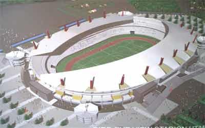 Stadion Utama Palaran Riwayatnya House Info Kaltim Disebut Pula Dibangun