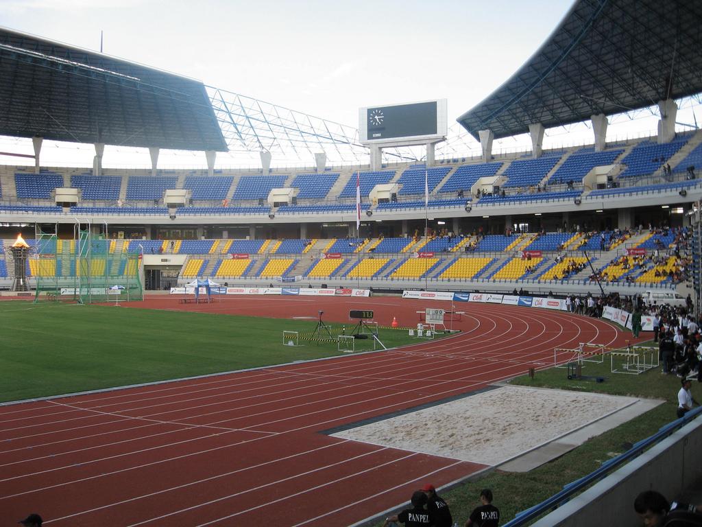 Stadion Utama Palaran Samarinda Kaltim 2 Flickr Travelling Kota