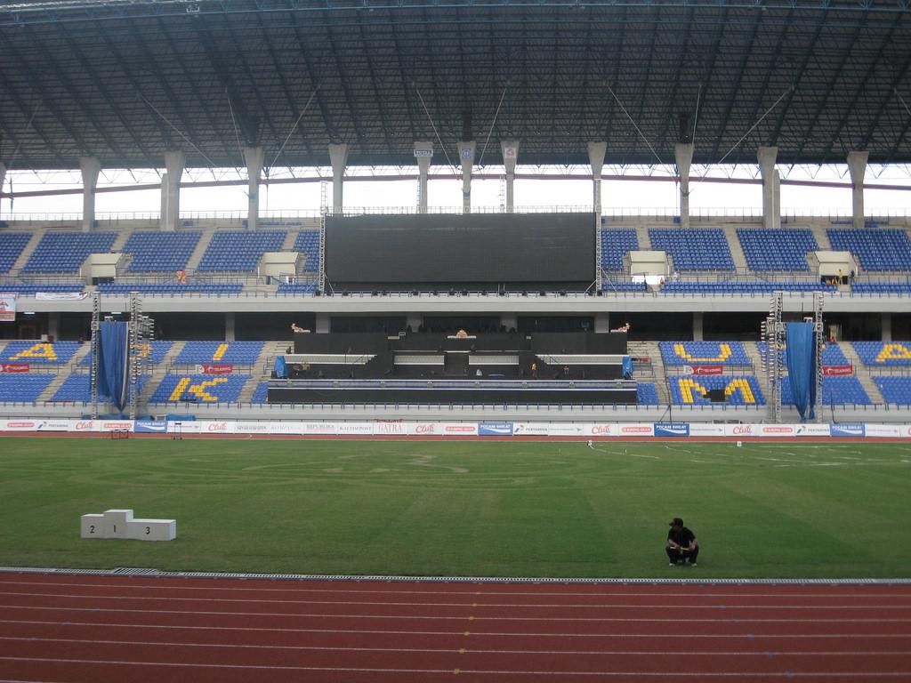Stadion Utama Palaran Samarinda Kaltim P Flickr Travelling Kota
