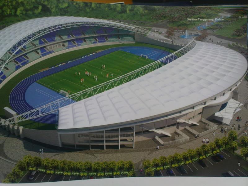 Stadium Utama Palaran Samarinda Jaya Bangunan Samping Adalh Stadion Pertama