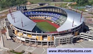 World Stadiums Palaran Stadium Samarinda Harapan Bangsa Banda Aceh Stadion