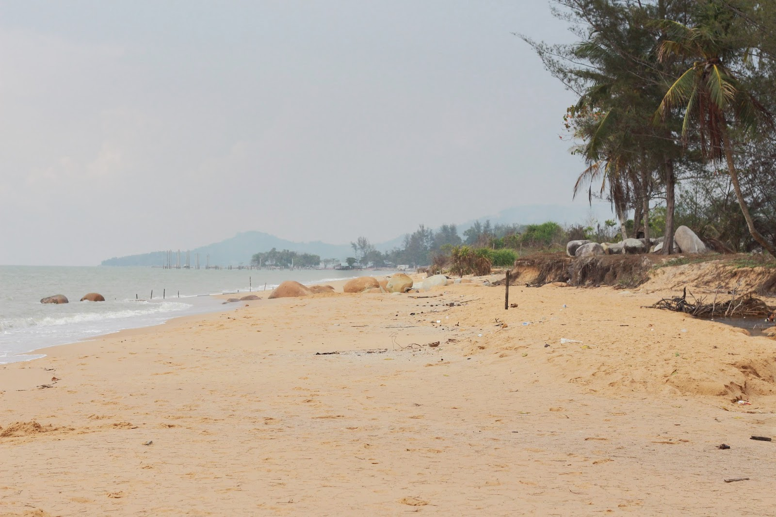 Kura Beach Kalimantan Barat Teknik Informatika Untan Hamparan Pasir Sepanjang