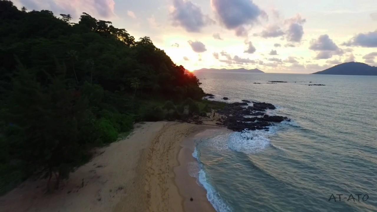Kura Beach Singkawang Drone Youtube Pantai Kota