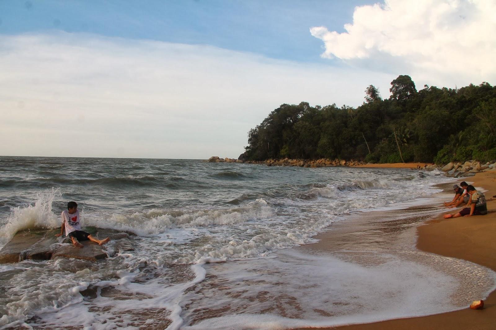 Landscape Berulangkali Pergi Pantai Kura Singkawang Tepatnya Mungkin Sekitar 18