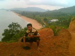 Maniak Petualang Pantai Kura Sebuah Terletak Kabupaten Bengkayang Berbatasan Langsung