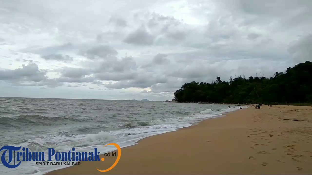 Pantai Kura Beach Kabupaten Bengkayang Youtube Kota Singkawang