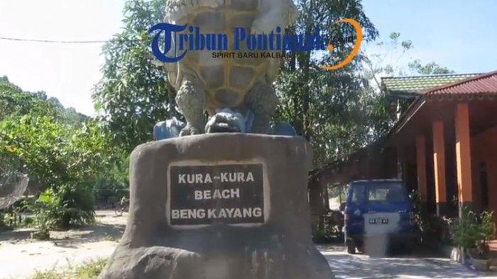 Pesona Wisata Kura Beach Kabupaten Bengkayang Tribun Pontianak Pantai Kota