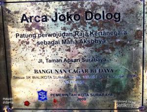 Joko Dolog Radjadoepa Img 20141104205906 5458dbaa2cf45 Arca Kota Surabaya