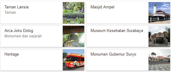 Kota Surabaya Jawa Timur Wisata Arca Joko Dolog