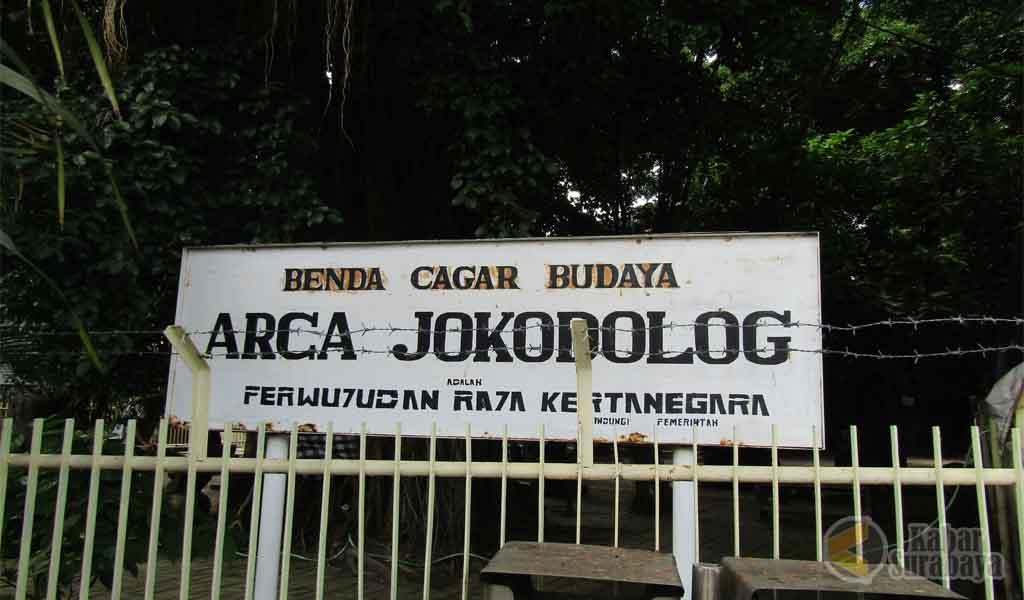 Patung Joko Dolog Surabaya Sarat Sejarah Kabar Arca Kota