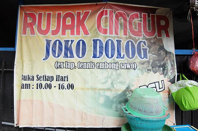 Rujak Cingur Joko Dolog Surabaya Pindahan Embong Sawo Setelah Menjalani