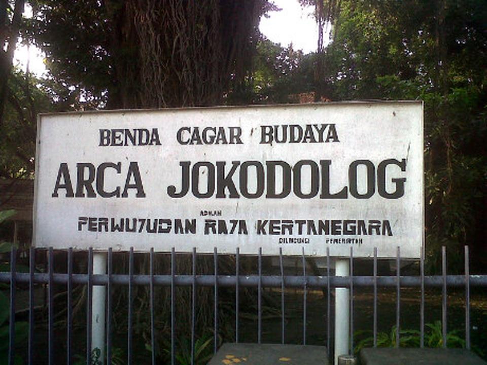 Statue Buddha Joko Dolog Surabaya Travel Guide Arca Kota
